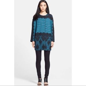 M MISSONI Space Dye Lace Oversized Jacket Coat 46